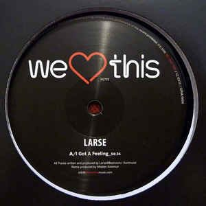 Larse – I got a feeling