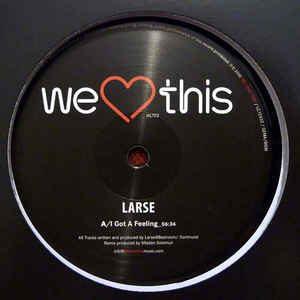 Larse – I got a feeling