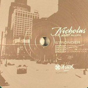 Nicholas feat Jessy Allen – Stonger EP (4 LUX)