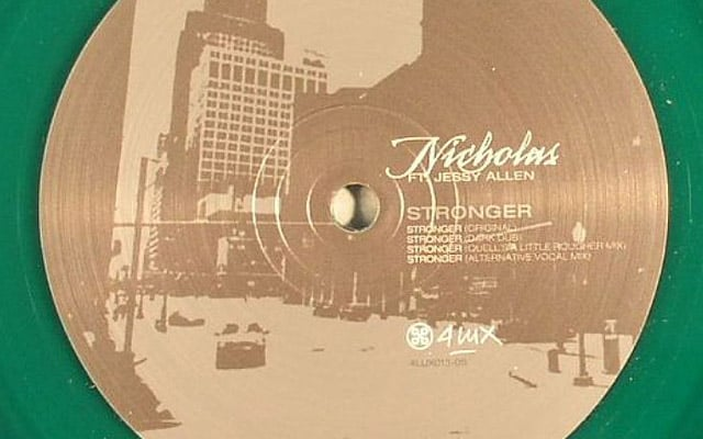 nicholas-stronger-ep,house music blog
