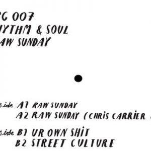 Rhythm & Soul – Raw Sunday E.P (ORGANIC-MUSIC)