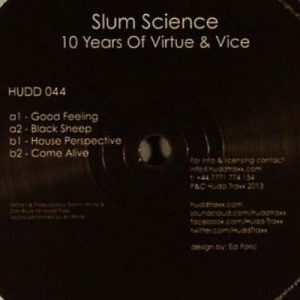 Slum Science – 10 Years of Virtue & Vice (HUDD TRAXX)