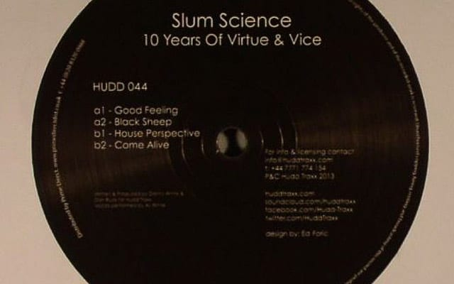slum science - 10 years of virtue and vice, house music blog