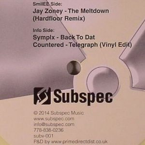 Jay Zoney – The Meltdown (Hardfloor remix)(SUBSPEC MUSIC)