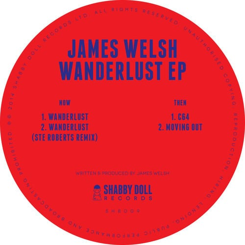 James Welsh – Wanderlust EP (Shabby Doll Records)
