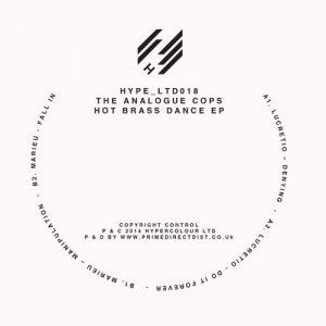 The Analogue Cops – Hot Brass Dance EP (HypeLTD018)
