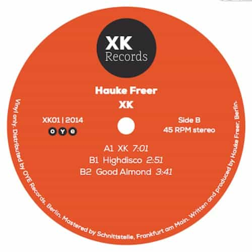 Hauke Freer – XK01