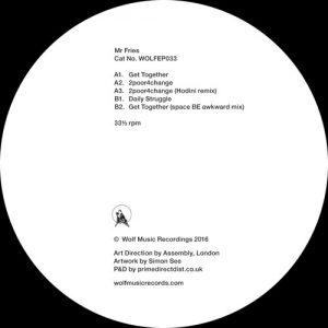 Mr Fries – WOLFEP033 (Wolf Music)
