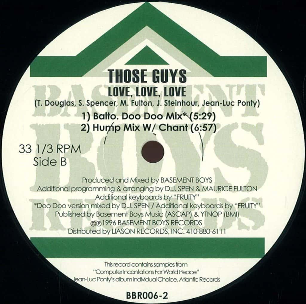 Those Guys – Love Love Love