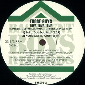 Those Guys – Love Love Love