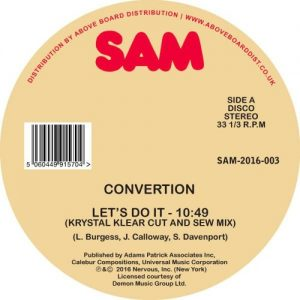 Convertion – Let's do it (Krystal Klear mixes)