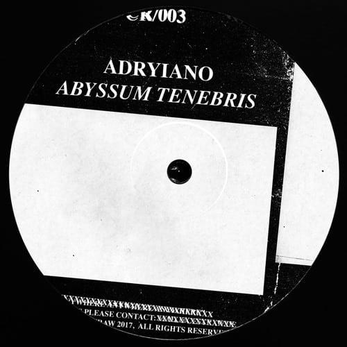 ADRYIANO – ABYSSUM TENEBRIS (CR/003)