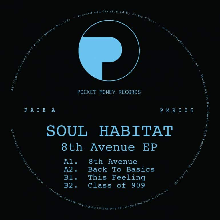PMR005 Soul Habitat 12INCH Centre Label (FACE A SQUARE FULL)