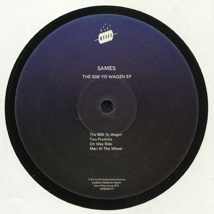 Sames – The 808 Yo Wagen EP