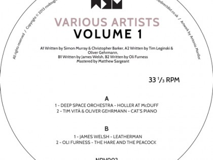 NDV 002 – Various Artists Volume 1