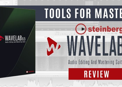Tools for mastering – Steinberg Wavelab – Review
